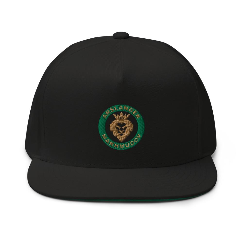 Lion's Head by Arslanbek Makhmudov hat, Gold Logo