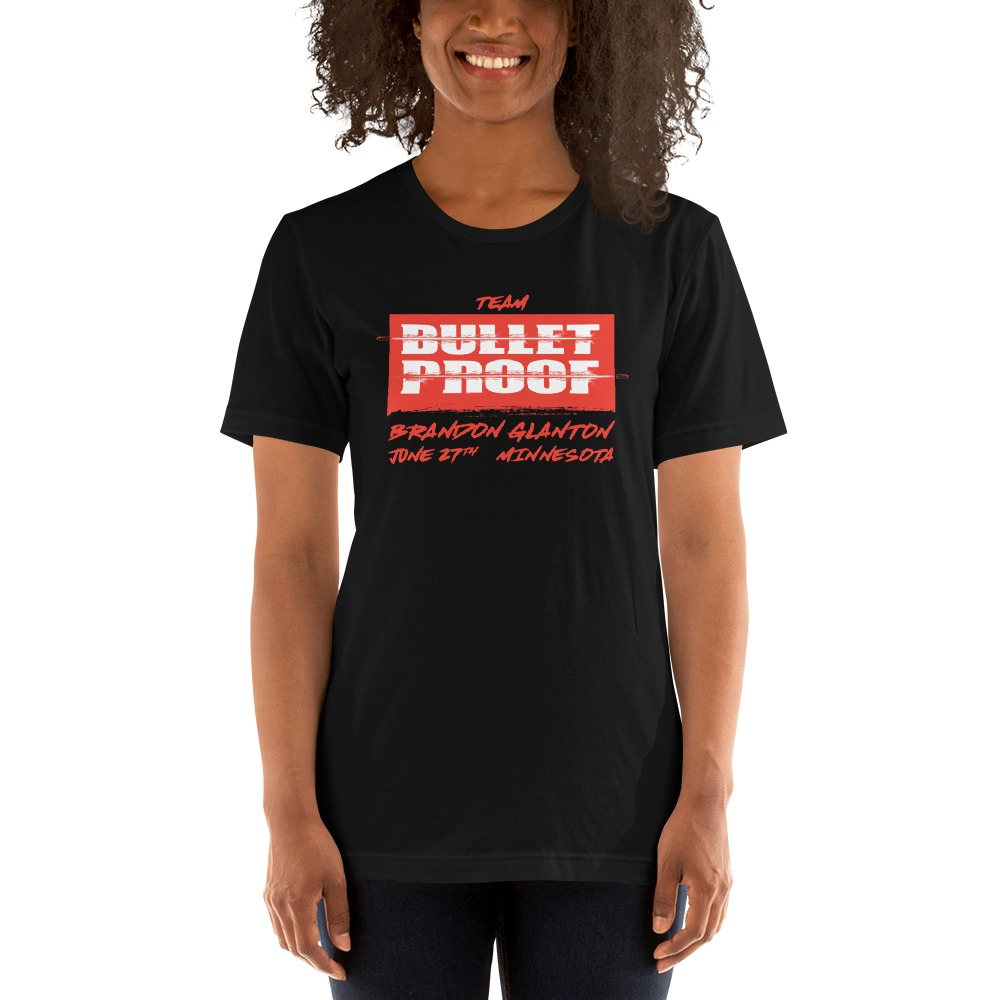 Bulletproof by Brandon Glanton, Limited Edition Women's T-Shirt