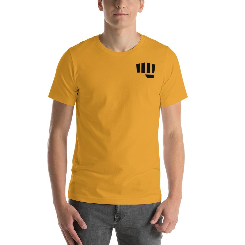 Fist Bump Men's T-shirt, Black Mini Logo