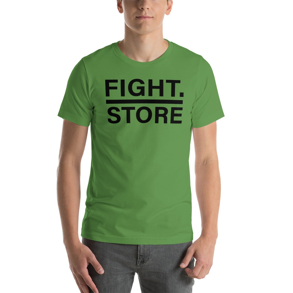 Fight Store Men's T-shirt, Black Logo