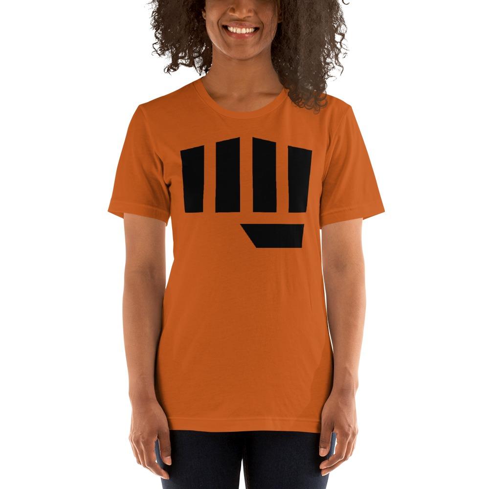 Fist Bump Women's T-shirt, Black Logo