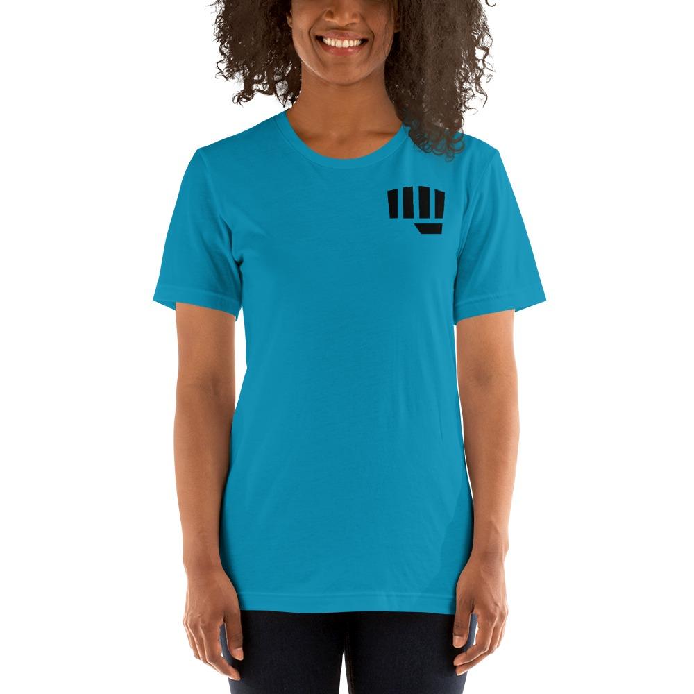 Fist Bump Women's T-shirt, Black Mini Logo