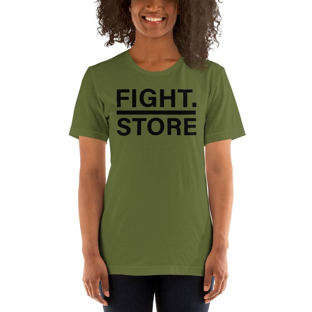 Fight Store Women's T-shirt, Black Logo