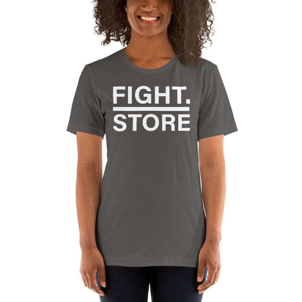 Fight Store Women's T-shirt, White Logo