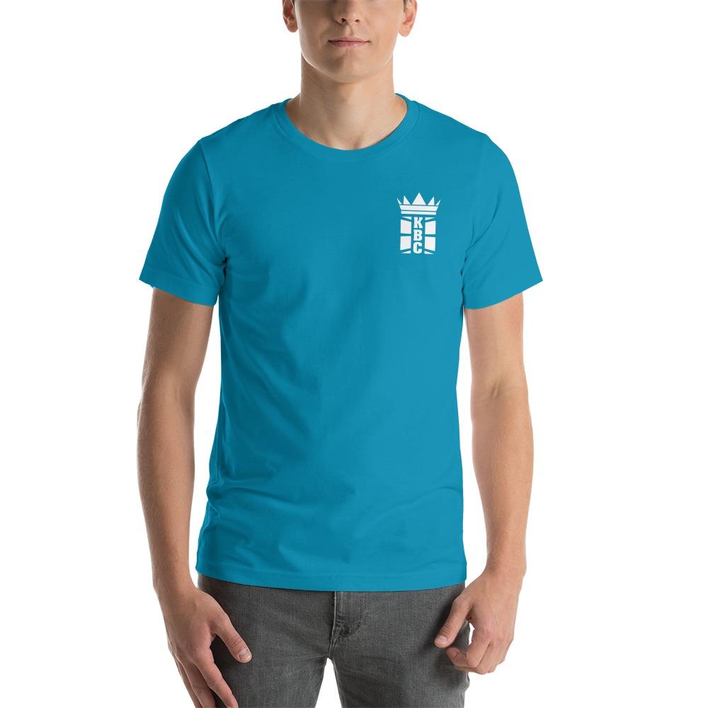 Kingsway Boxing Club Men's T-Shirt, White Mini Logo