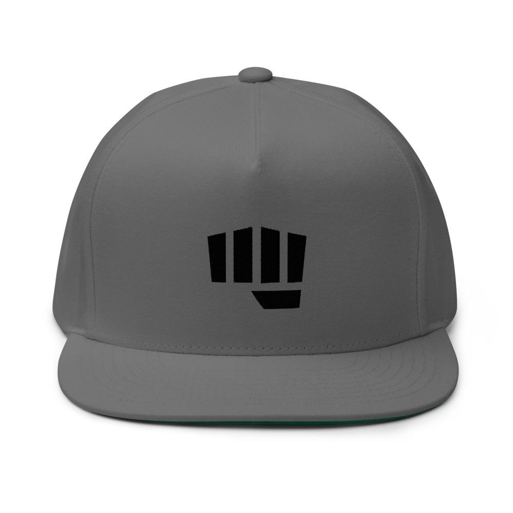Fist Bump Hat, Black Logo