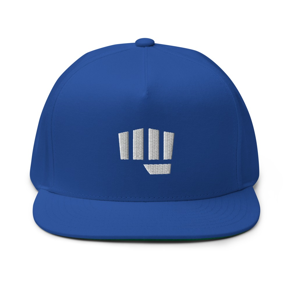 Fist Bump Hat, White Logo