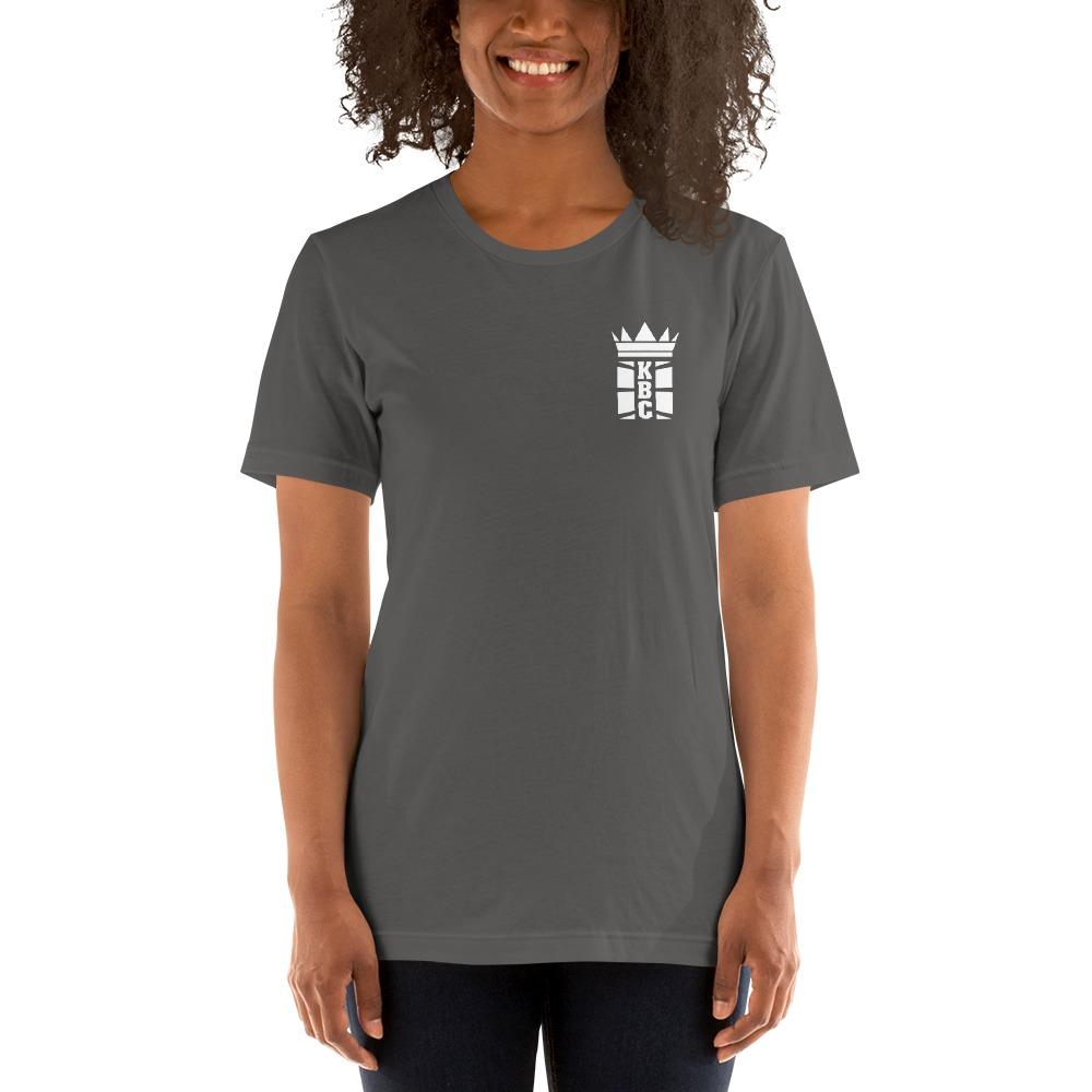 Kingsway Boxing Club Women's T-Shirt, White Mini Logo