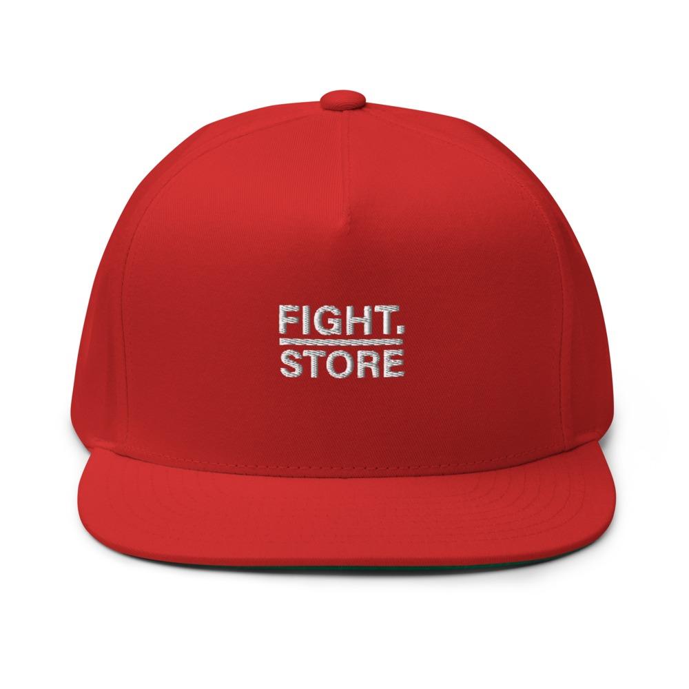Fight Store Hat, White Logo