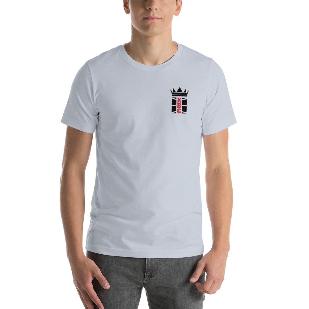 Kingsway Boxing Club Men's T-Shirt, Black Mini Logo