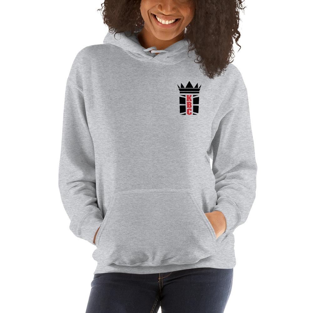 Kingsway Boxing Club Women's Hoodie, Black Mini Logo