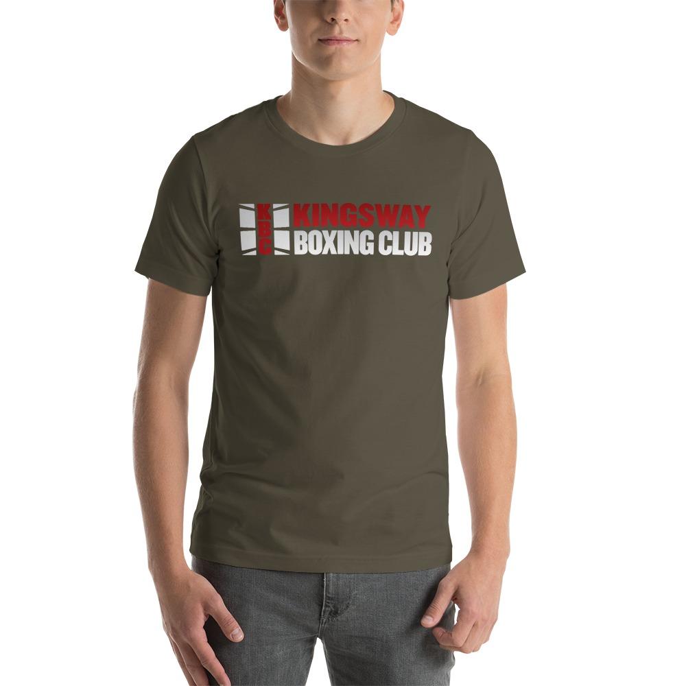 KBC Official Men's T-Shirt, Full Logo, Dark Colour Shirt