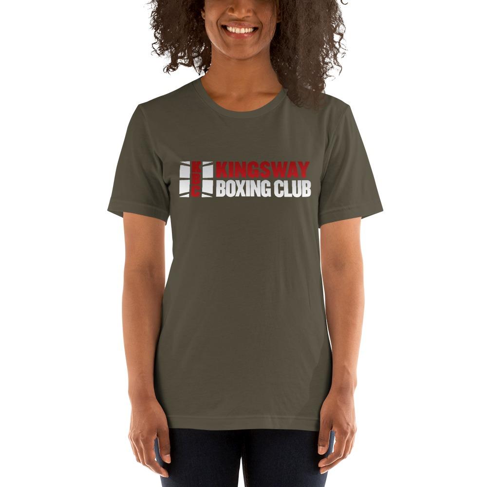 KBC Official Women's T-Shirt, Full Logo, Dark Colour Shirt