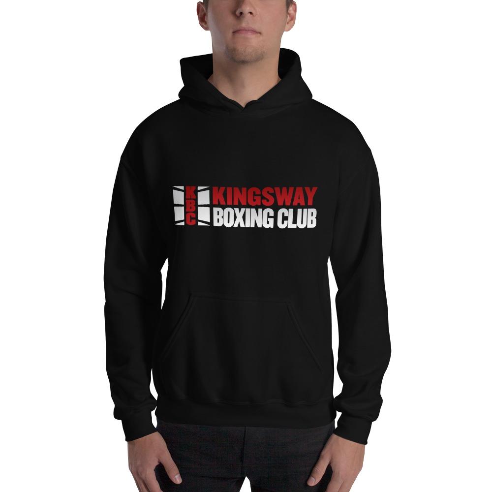 KBC Official Men's Hoodie, Full Logo, Dark Colour Hoodie