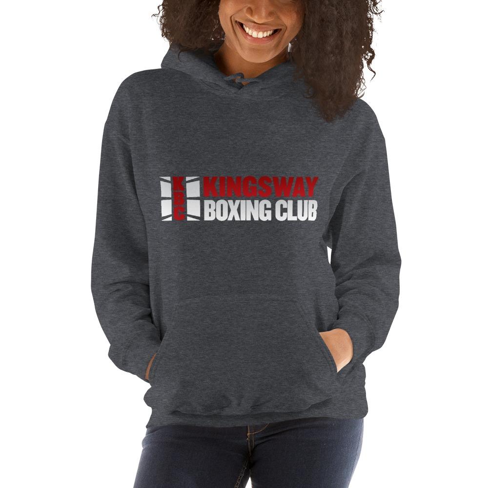 KBC Official Women's Hoodie, Full Logo, Dark Colour Hoodie