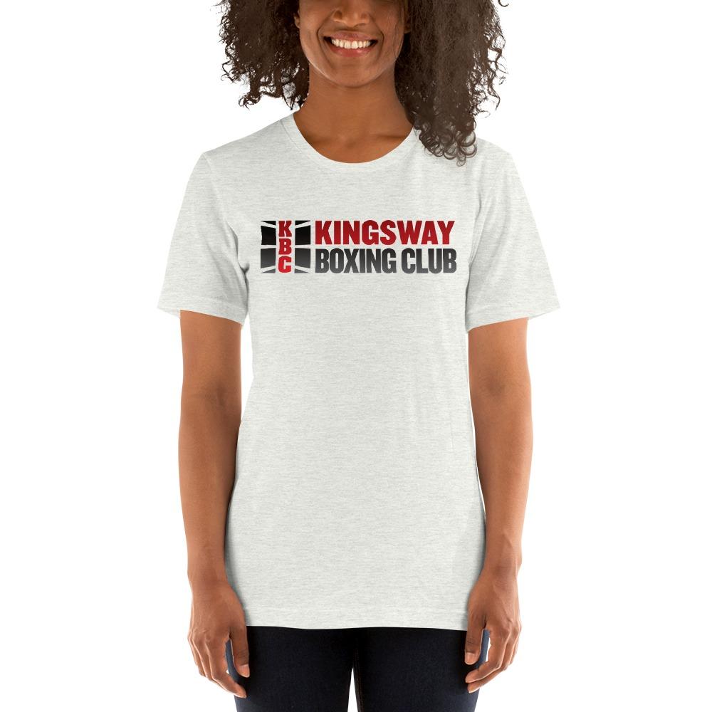 KBC Official Women's T-Shirt, Full Logo, Light Colour Shirt