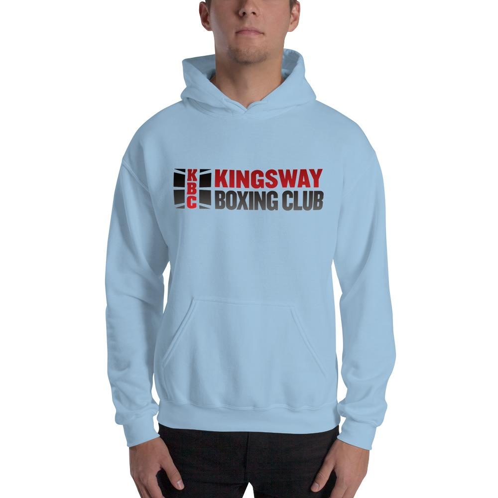 KBC Official Men's Hoodie, Full Logo, Light Colour Hoodie