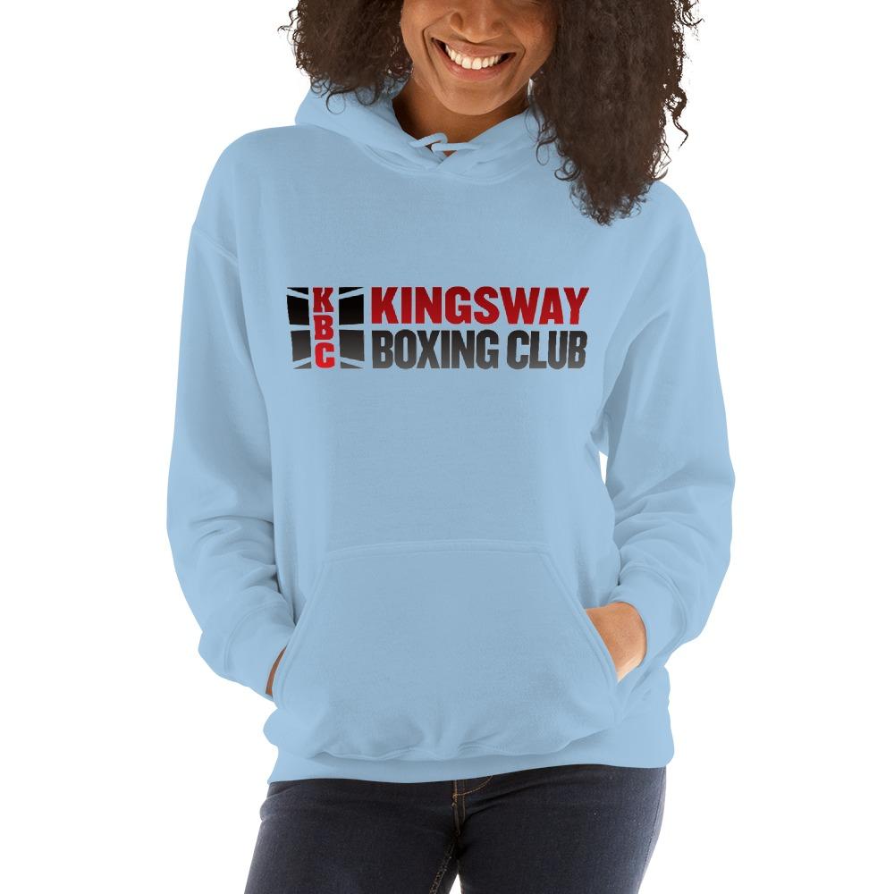 KBC Official Women's Hoodie, Full Logo, Light Colour Hoodie
