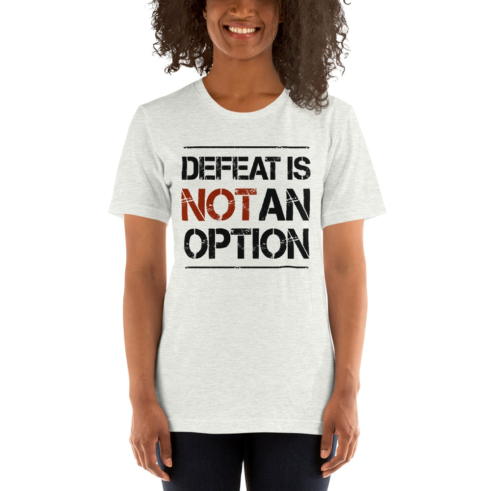 Kingsway Boxing Club Women's T-Shirt, No Defeat, Dark Logo
