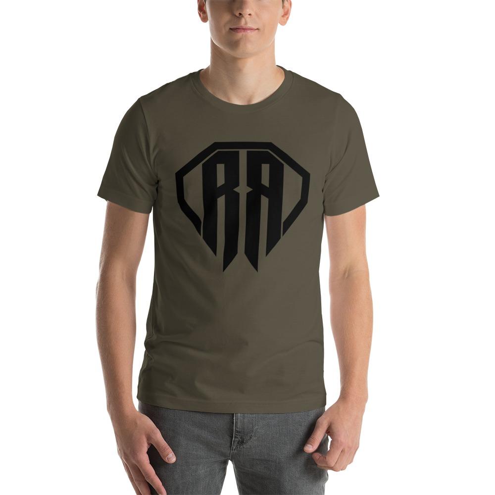Rr By Ryan Roach, Men's T-shirt, Black Logo