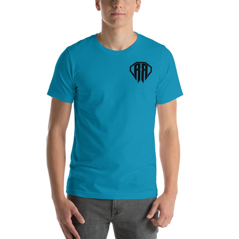 Rr By Ryan Roach, Men's T-shirt, Black Logo Mini