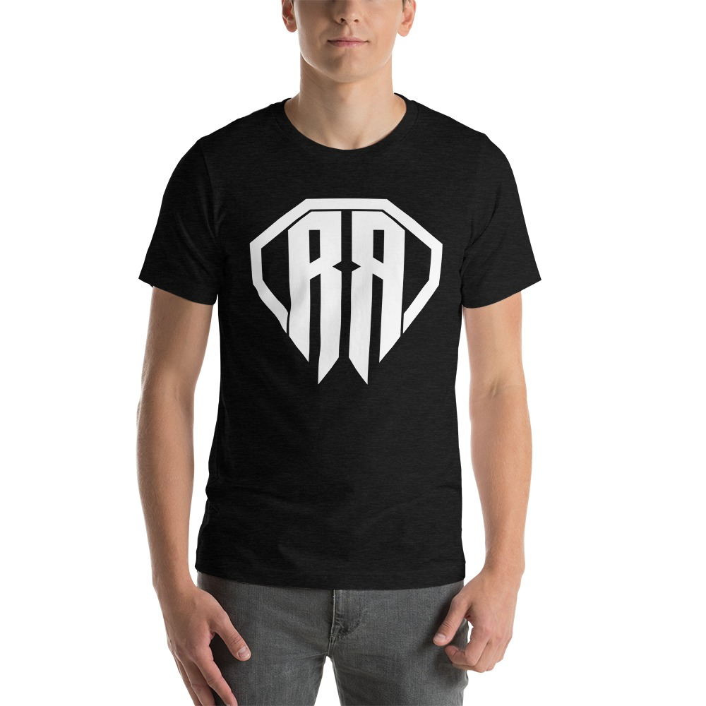 Rr By Ryan Roach, Men's T-shirt, White Logo