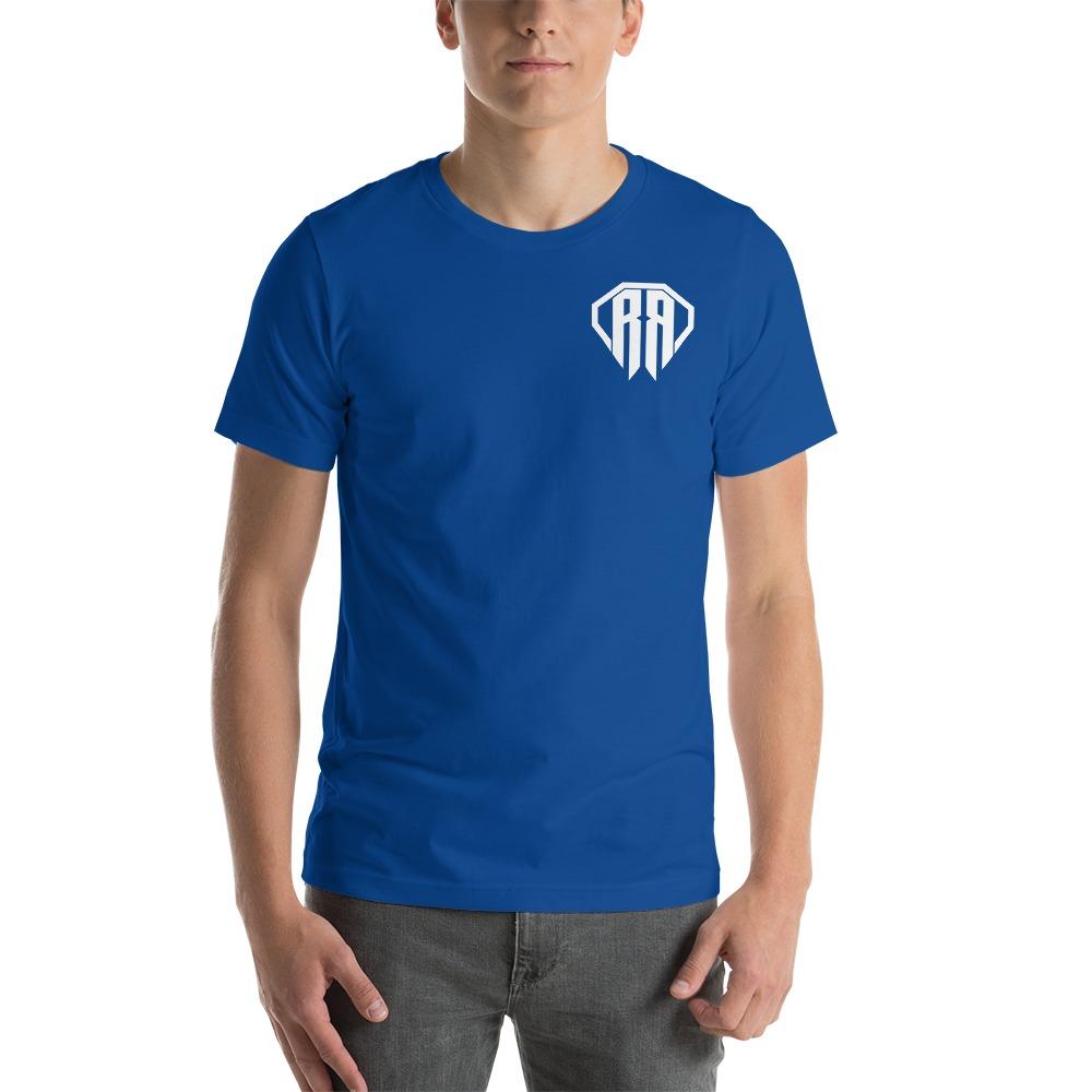 Rr By Ryan Roach, Men's T-shirt, White Logo Mini