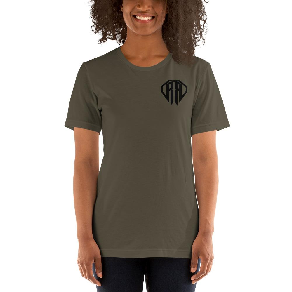 Rr By Ryan Roach, Women's T-shirt, Black Logo Mini