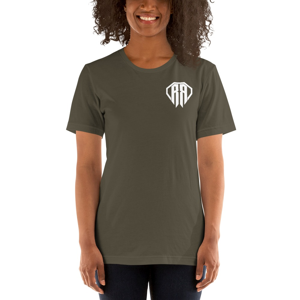 Rr By Ryan Roach, Women's T-shirt, White Logo Mini