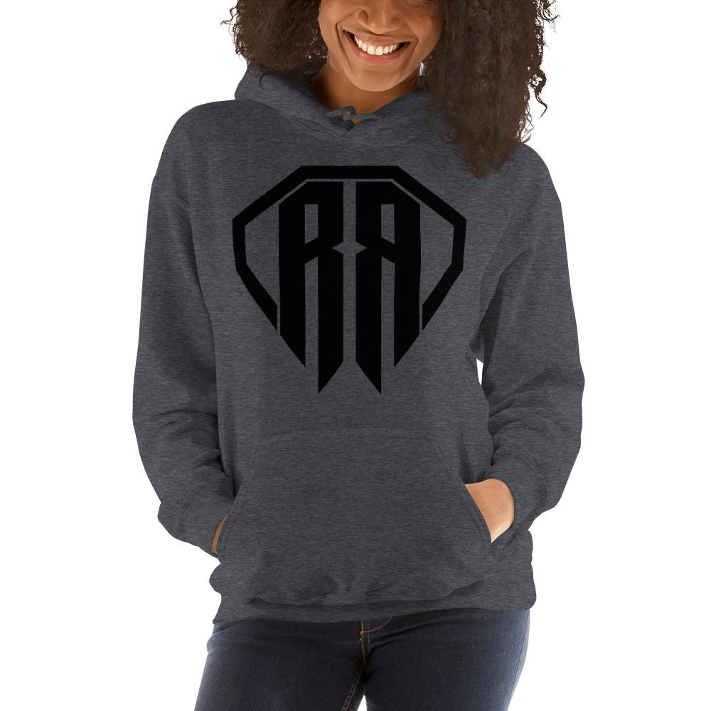 Rr By Ryan Roach, Women's Hoodie, Black Logo