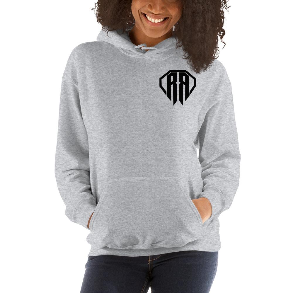 Rr By Ryan Roach, Women's Hoodie, Black Logo Mini