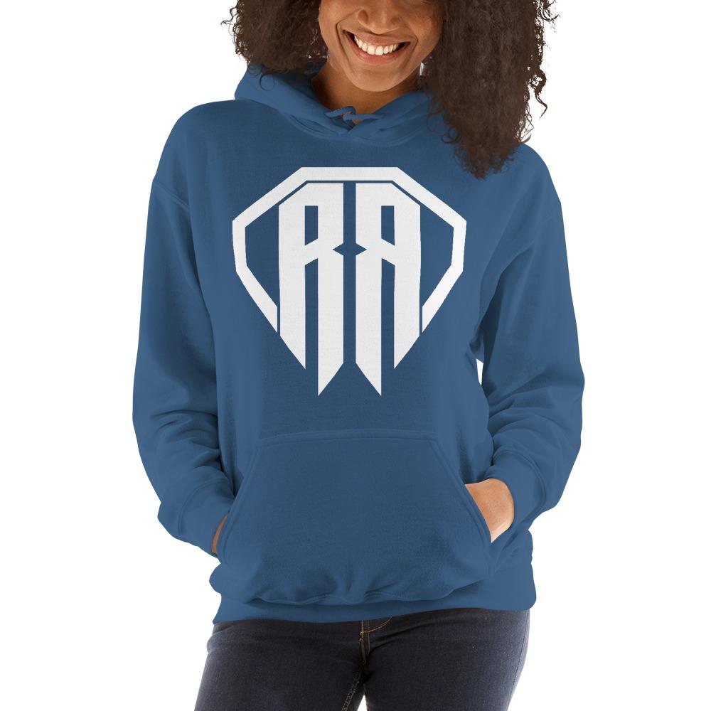 Rr By Ryan Roach, Women's Hoodie, White Logo
