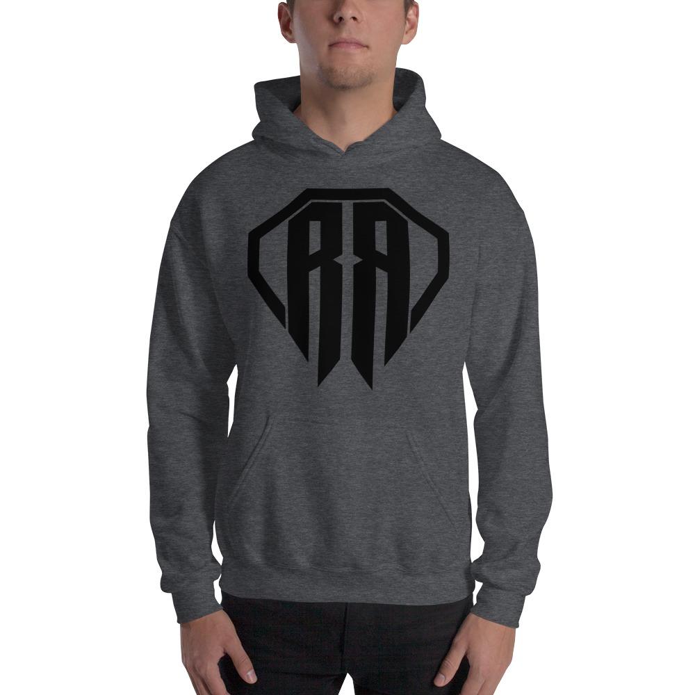 Rr By Ryan Roach, men's Hoodie, Black Logo