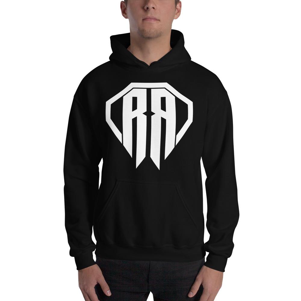 Rr By Ryan Roach, men's Hoodie, White Logo
