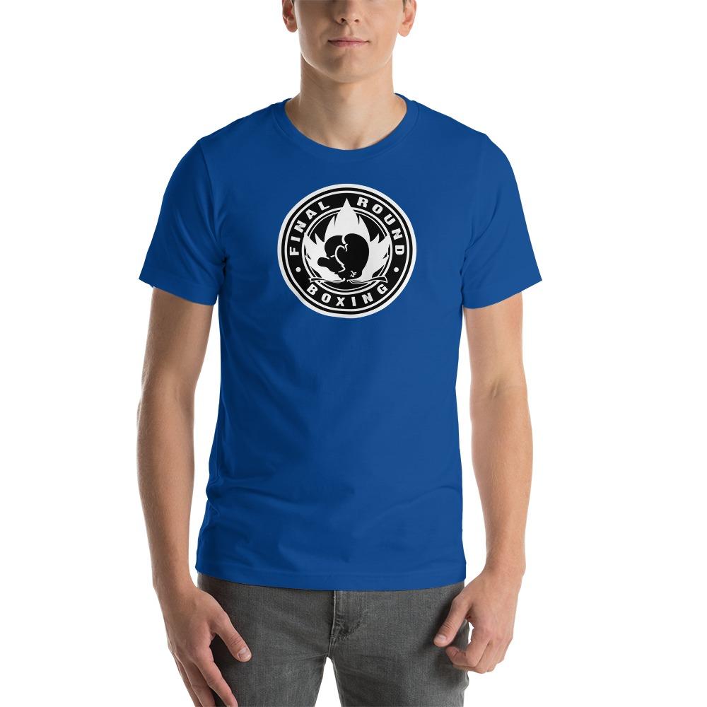 Final Round Men's T-shirt, Black & White Logo