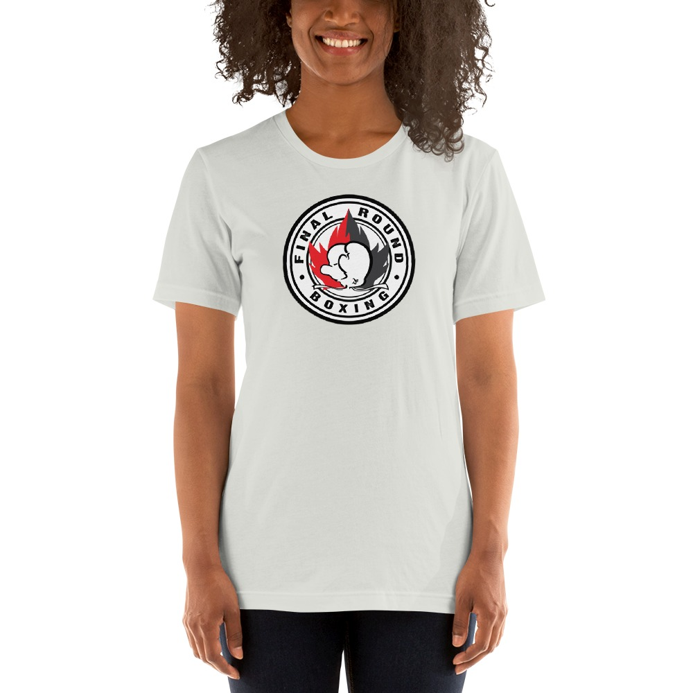 Final Round Women's T-shirt, Red And Black Logo