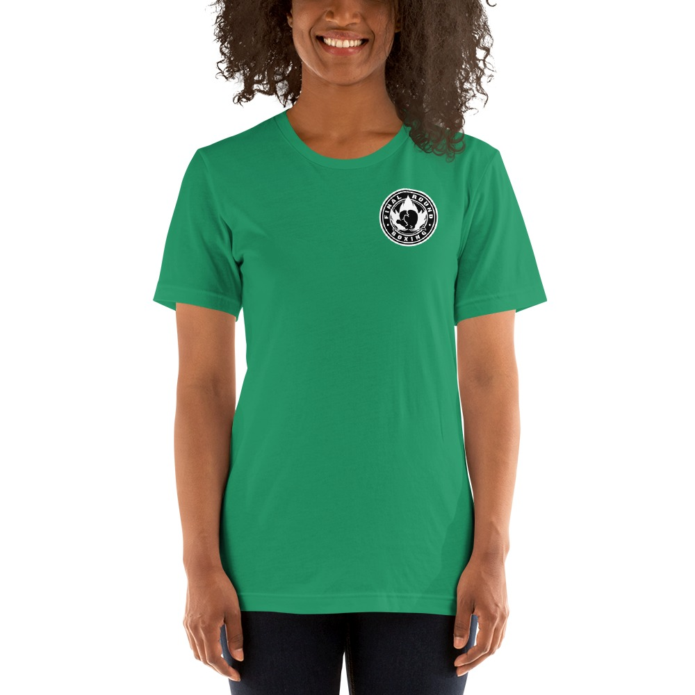 Final Round Women's T-shirt, Black & White Mini Logo