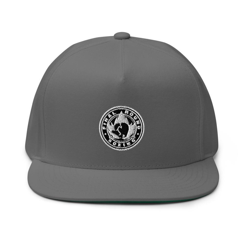 Final Round Hat, Black & White Logo
