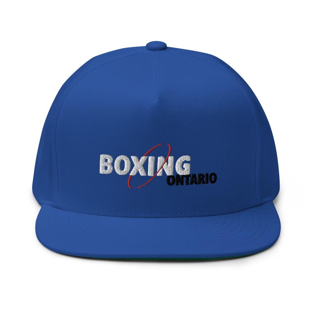 Boxing Ontario Hat, Black Logo
