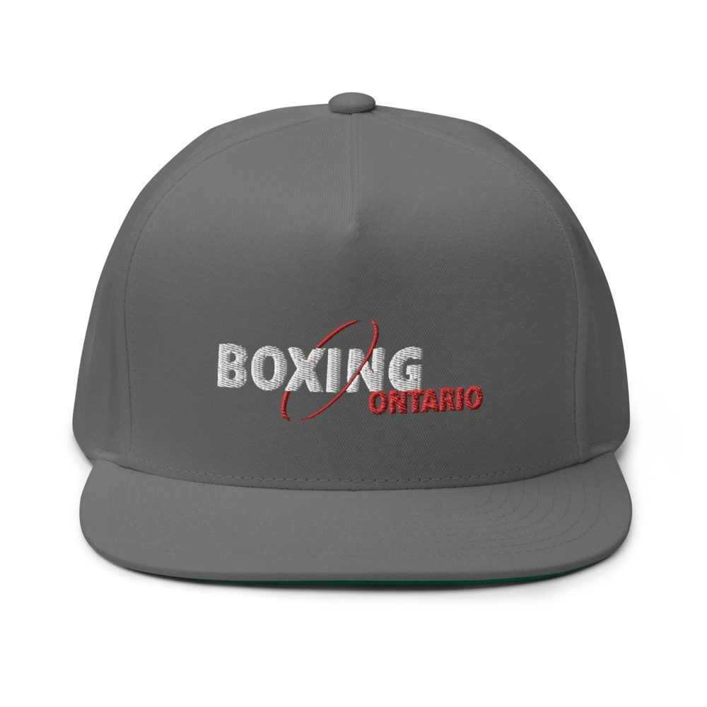 Boxing Ontario Hat, Red Logo