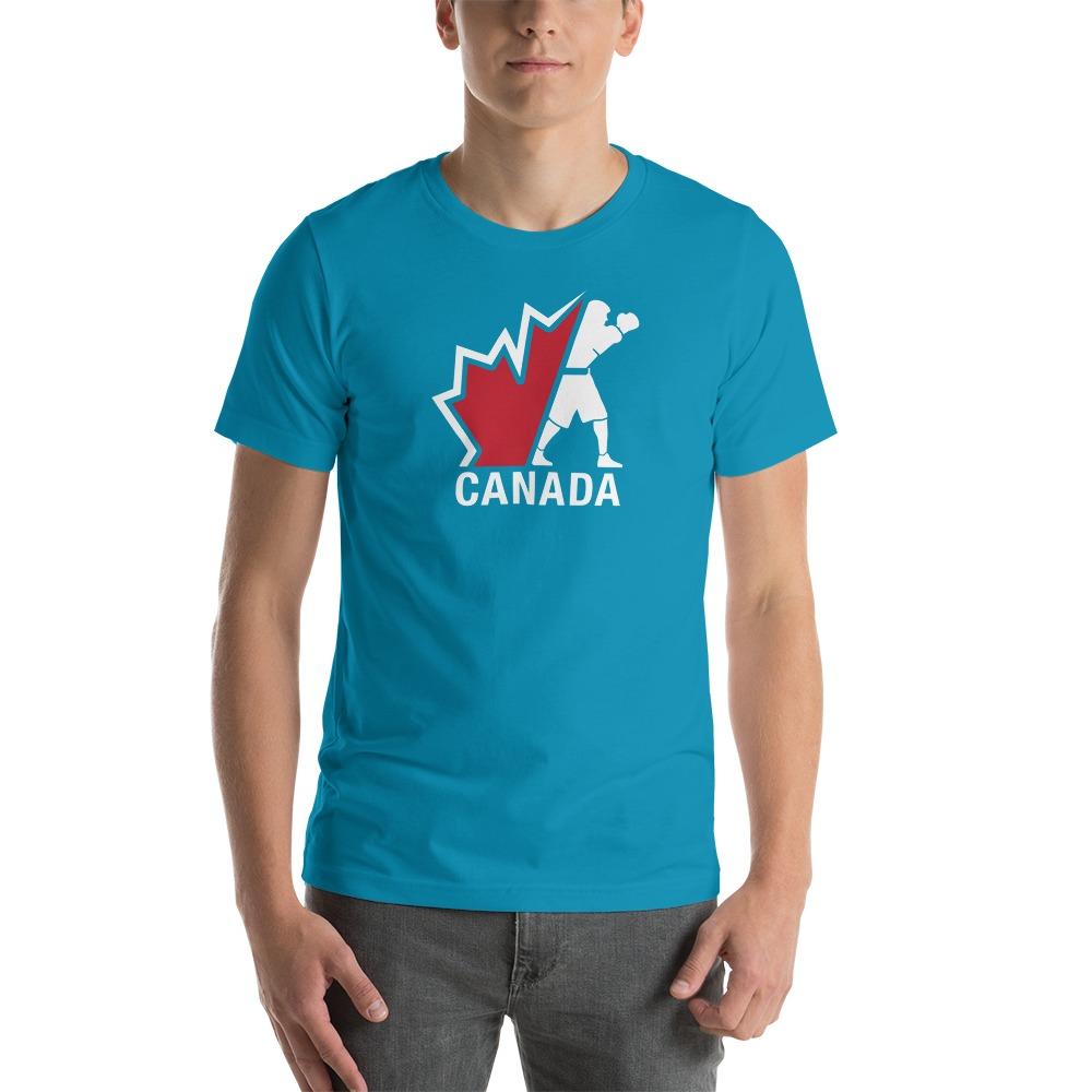 Boxing Canada Men's T-shirt, Light Logo