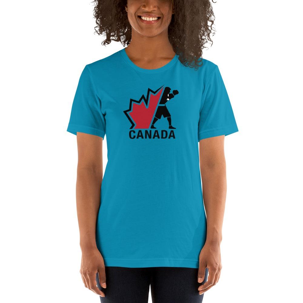 Boxing Canada Women's T-shirt, Dark Logo