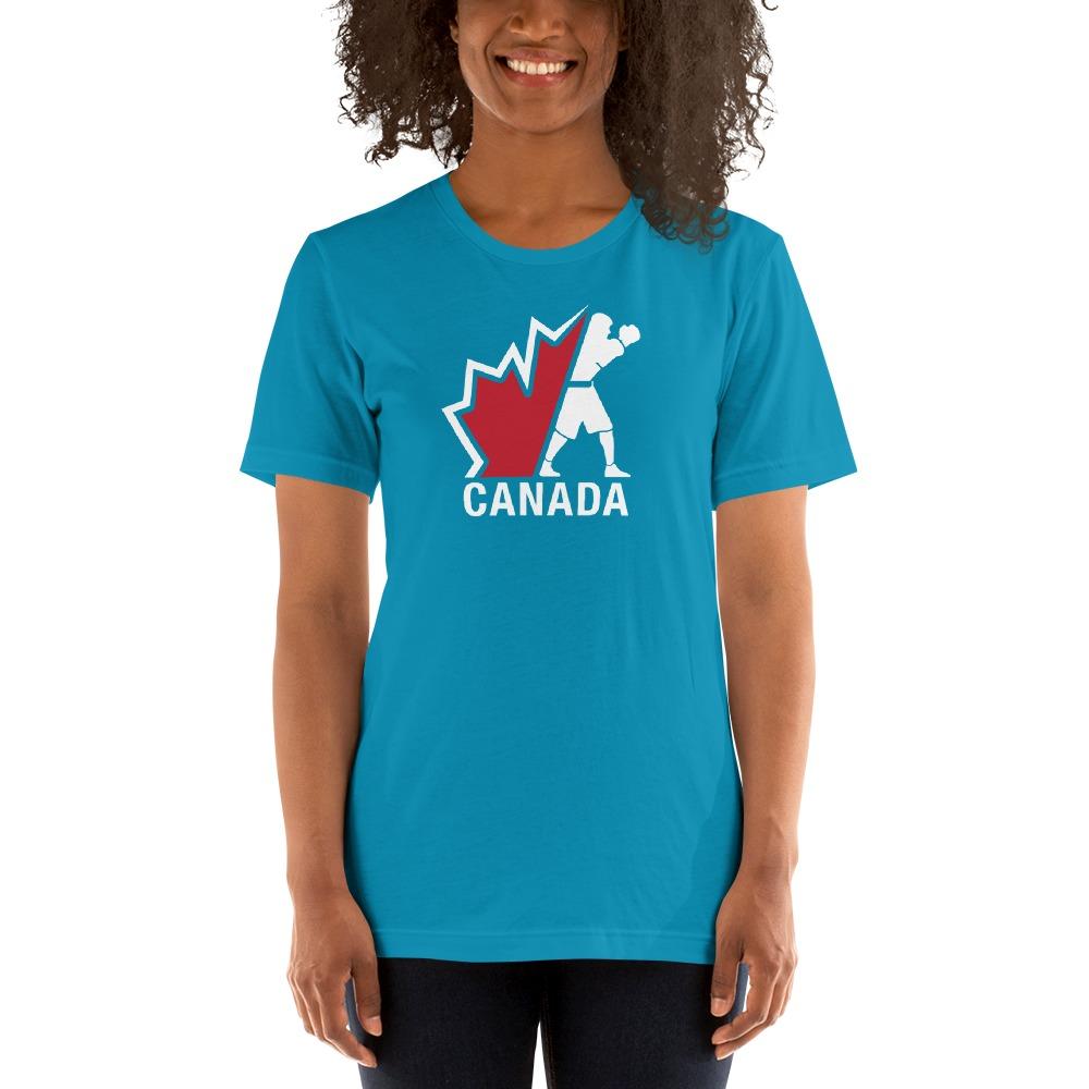 Boxing Canada Women's T-shirt, Light Logo