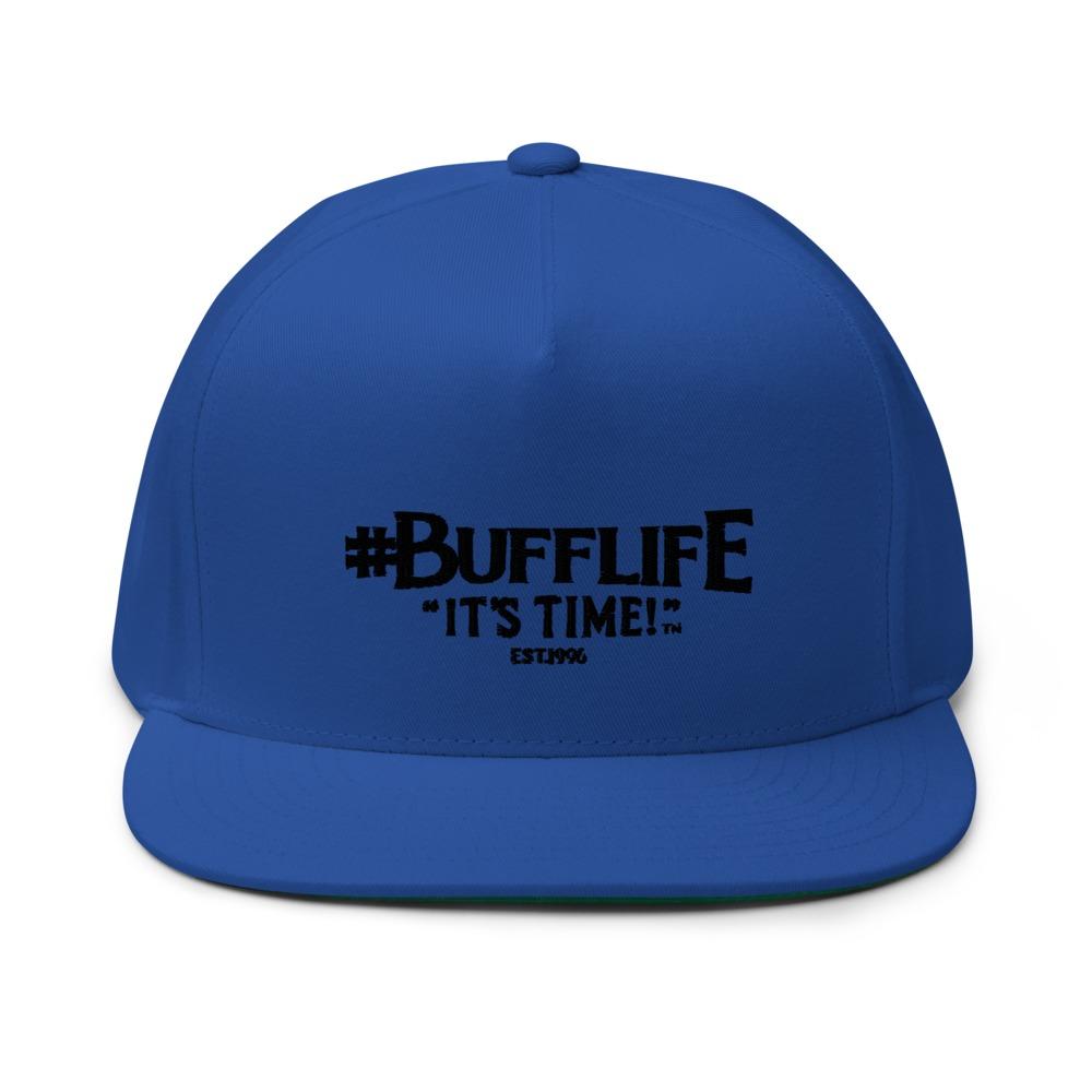 """BUFFLIFE"" BY BRUCE BUFFER HAT, BLACK LOGO"