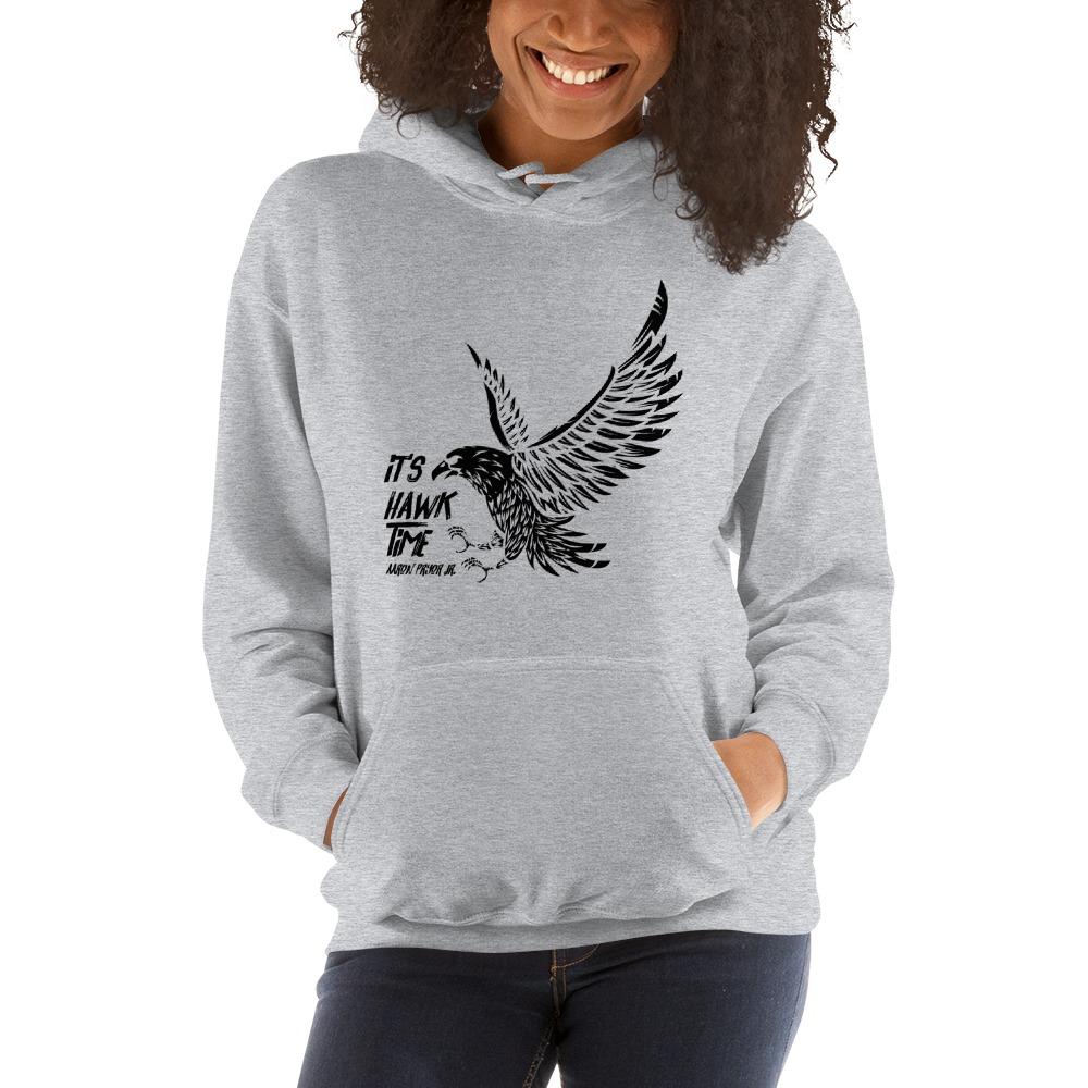 It's Hawk Time by Aaron Pryor Jr. Women's Hoodie