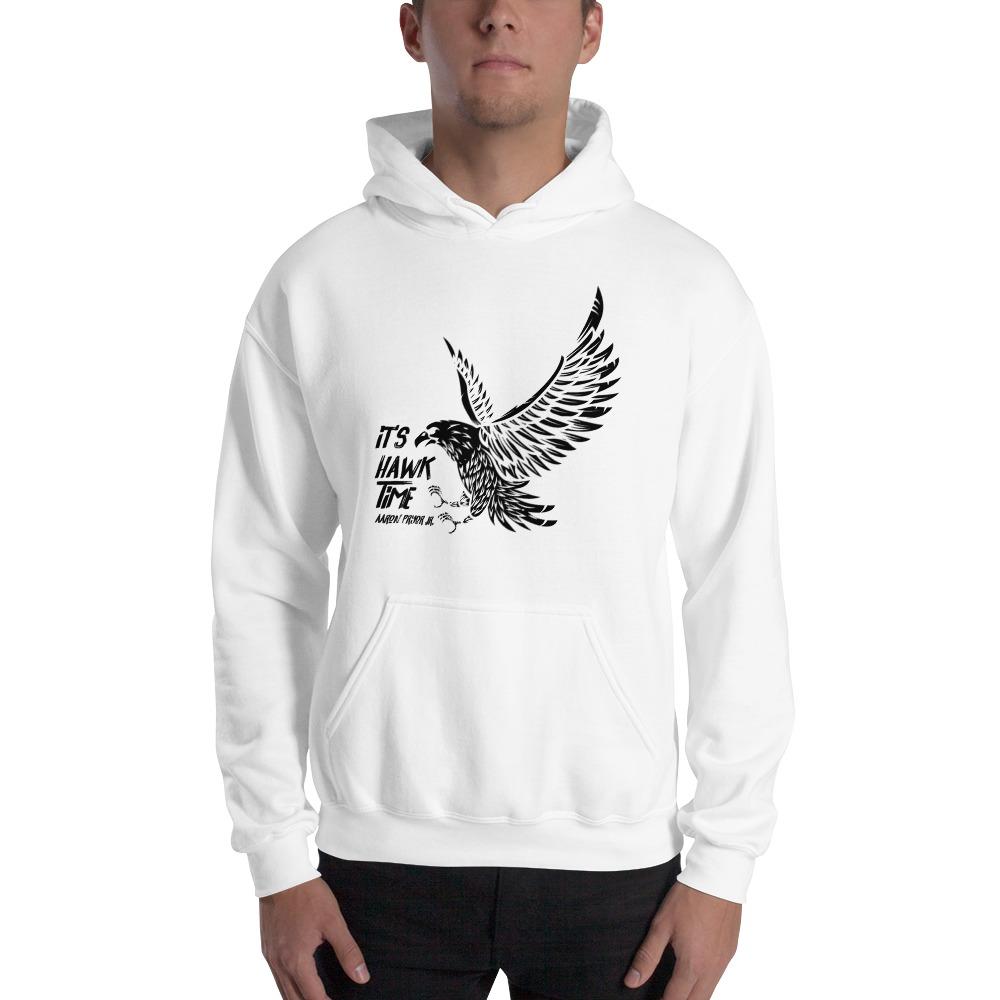 It's Hawk Time by Aaron Pryor Jr. Men's Hoodie