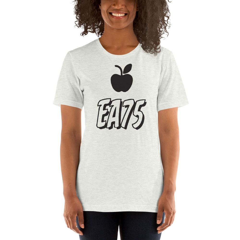 EA75 by Eleasah Anderson Women's T-shirt, Black Logo