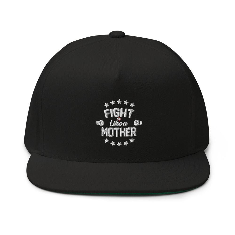 Fight Like A Mother by Mandy Bujold, Hat White Logo