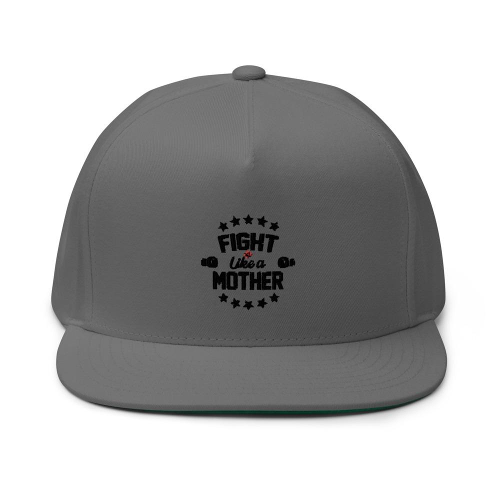 Fight Like A Mother by Mandy Bujold, Hat Black Logo