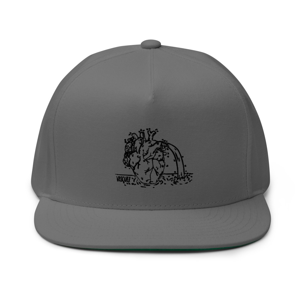 Heart of a Swimmer by Miguel Vásquez Hat, White Logo